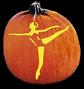 BALLERINA PUMPKIN CARVING PATTERN