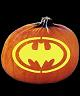 BAT SYMBOL BAT SIGNAL PUMPKIN CARVING PATTERN