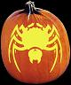 BLACK WIDOW PUMPKIN CARVING PATTERN
