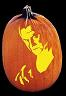 THE COUNT PUMPKIN CARVING PATTERN