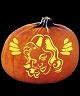 DAMSEL IN DISTRESS PUMPKIN CARVING PATTERN