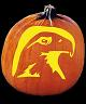 SPOOKMASTER EAGLE PUMPKIN CARVING PATTERN