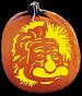 EINSTEIN PUMPKIN CARVING PATTERN