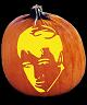 ELVIS PUMPKIN CARVING PATTERN