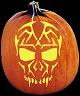 EXOTIC CREATURE PUMPKIN CARVING PATTERN