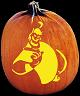 GENIE PUMPKIN CARVING PATTERN