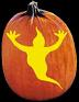 GHOSTLY PUMPKIN CARVING PATTERN