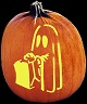 HAPPY HAUNTING PUMPKIN CARVING PATTERN