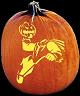 HEADLESS HORSEMAN PUMPKIN CARVING PATTERN