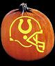 SPOOKMASTER NFL FOOTBALL INDIANAPOLIS COLTS PUMPKIN CARVING PATTERN