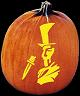 JACK THE RIPPER PUMPKIN CARVING PATTERN