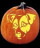 SPOOKMASTER JACK RUSSELL TERRIER DOG PUMPKIN CARVING PATTERN