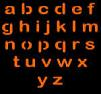 LOWER CASE LETTERS PUMPKIN CARVING PATTERN