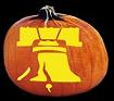 LIBERTY BELL PUMPKIN CARVING PATTERN