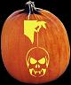 LUCKY CHARM PUMPKIN CARVING PATTERN