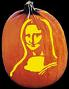 MONA LISA PUMPKIN CARVING PATTERN
