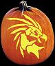 MYTHICAL CREATURE PUMPKIN CARVING PATTERN