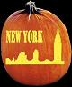 NEW YORK PUMPKIN CARVING PATTERN