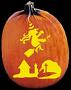 NIGHT RIDER PUMPKIN CARVING PATTERN
