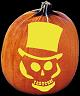 MAD HATTER PUMPKIN CARVING PATTERN