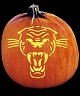 SPOOKMASTER PANTHER PUMPKIN CARVING PATTERN
