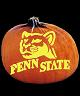 PENN STATE NITTANY LIONS PUMPKIN CARVING PATTERN