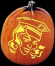POLICE OFFICER PUMPKIN CARVING PATTERN