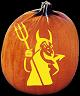 PRINCE OF DARKNESS PUMPKIN CARVING PATTERN