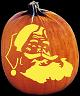 SANTA PUMPKIN CARVING PATTERN