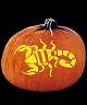 SPOOKMASTER SCORPION PUMPKIN CARVING PATTERN