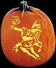 SLEEPY HOLLOW PUMPKIN CARVING PATTERN