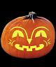 SMILEY PUMPKIN CARVING PATTERN