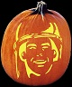 SOLDIER PUMPKIN CARVING PATTERN