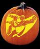 SUPERMAN PUMPKIN CARVING PATTERN