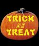TRICK OR TREAT PUMPKIN CARVING PATTERN