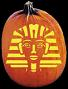 KING TUT PUMPKIN CARVING PATTERN