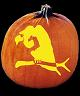 VULTURE PUMPKIN CARVING PATTERN