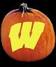 WISCONSIN BADGERS PUMPKIN CARVING PATTERN