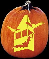 SPOOKMASTER BAT PUMPKIN CARVING PATTERN