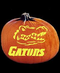 SpookMaster Florida Gators College Football Team Pumpkin Carving Pattern