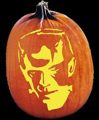 SPOOKMASTER FRANKENSTEIN PUMPKIN CARVING PATTERN