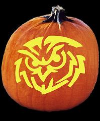 SPOOKMASTER HOOTER PUMPKIN CARVING PATTERN