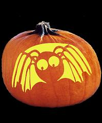 SpookMaster Itsy Bitsy Spider Pumpkin Carving Pattern