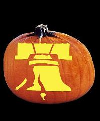 SPOOKMASTER LIBERTY BELL PUMPKIN CARVING PATTERN