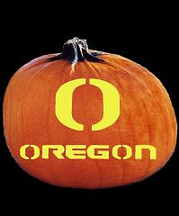 SPOOKMASTER OREGON DUCKS PUMPKIN CARVING PATTERN