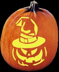 SPOOKMASTER PUMPKIN POSSESSED PUMPKIN CARVING PATTERN