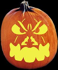 SpookMaster Punkinhead Pumpkin Carving Pattern