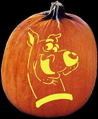 scooby doo pumpkin pattern