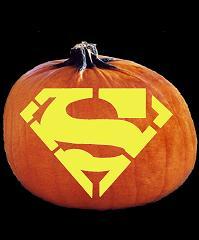 Superman pumpkin carving patterns