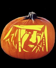 SPOOKMASTER TONTO PUMPKIN CARVING PATTERN